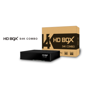 HD BOX S4K COMBO