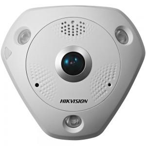 12Мп FishEye-камера с ИК-подсветкой Hikvision DS-2CD63C2F-IVS