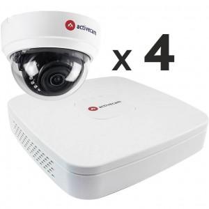 Комплект видеонаблюдения AC-K140 на 4 камеры