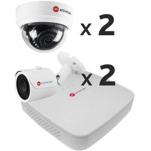 Комплект видеонаблюдения AC-K141 на 4 камеры