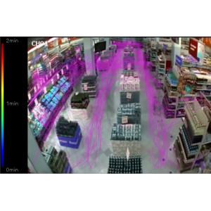 Модуль анализа движения посетителей в кадре TRASSIR Kinetic Map