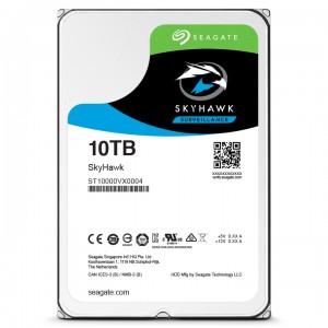 10 ТБ жесткий диск Seagate ST10000VX0004 серии SkyHawk для систем видеонаблюдения