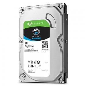 1 ТБ жесткий диск Seagate ST1000VX005 серии SkyHawk для систем видеонаблюдения