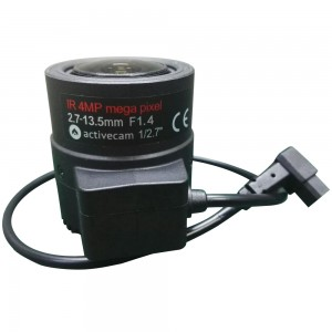 4Мп вариообъектив ActiveCam AC-MP27135D.IR с ИК-коррекцией