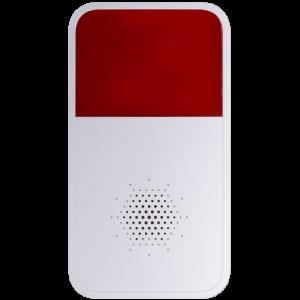Беспроводная сирена охранной сигнализации Dahua DHI-ARA10-W