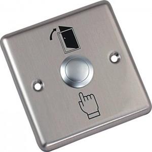 Кнопка выхода металлическая врезная NO AccordTec AT-H801B