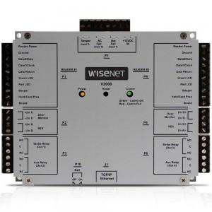 Сетевой дверной контроллер Wisenet Samsung V2000 с поддержкой 2 считывателей