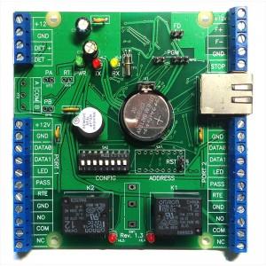 Сетевой контроллер Sigur E300H, управление гостиничным номером, до 50 ключей, 500 временных зон и 40000 событий
