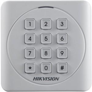 Считыватель EM-Marine карт Hikvision DS-K1801EK с клавиатурой