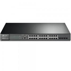 24-портовый гигабитный управляемый PoE-коммутатор TP-Link T2600G-28MPS (TL-SG3424P)