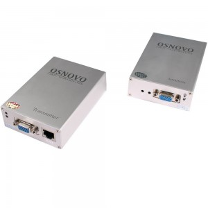 Комплект TA-V/2+RA-V/2: передатчик и приемник для передачи VGA и аудиосигнала по UTP CAT5 до 100 м