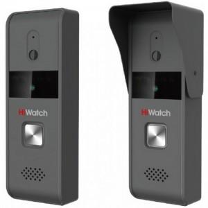 Аналоговая вызывная панель HiWatch DS-D100P: камера с ИК-подсветкой, интерком