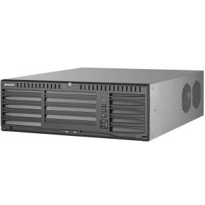 128-канальный NVR Hikvision DS-96128NI-I16/H, запись 12Мп, H.265+