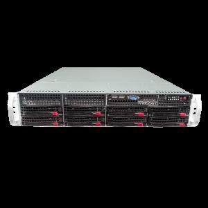 128-канальный IP-видеорегистратор TRASSIR NeuroStation на TRASSIR OS