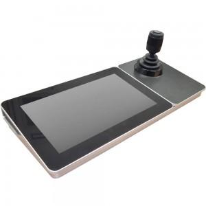IP-пульт управления Hikvision DS-1600KI с клавиатурой, джойстиком и экраном 10.1