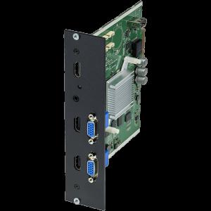 Модуль Wisenet SPD-260BP для подключения двух мониторов к контроллеру видеостены SPD-1660RP