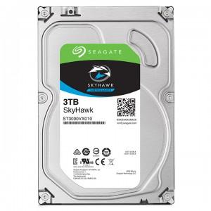 3 Тбайт жесткий диск Seagate ST3000VX010 серии SkyHawk для систем видеонаблюдения