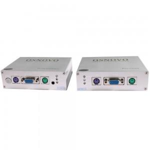 Комплект TA-VKM/1+RA-VKM/1: приемник и передатчик для передачи VGA/клавиатура/мышь до 50 м