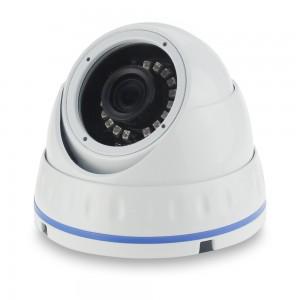 Уличная купольная AHD/CVI/TVI/CVBS видеокамера 2 Мп 2,8 мм KKRDNHTC200F