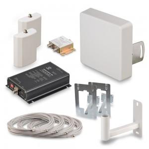 Комплект усиления GSM900 и EGSM сигнала сотовой связи KRD-900-2
