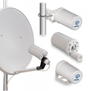 Роутер Kroks Rt-Pot eY с m-PCI модемом YUGA CLM920, встроенным в антенну