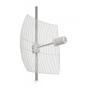 Kroks Rt-Pot 24Grid eQ - параболическая MIMO антенна 24 дБ со встроенным роутером и модемом
