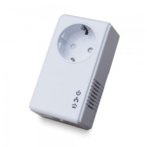 Адаптер Powerline QTECH PLC-адаптер QPLA-200v.2P rev.2