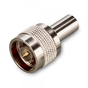 Разъем  N-111/5D (male) 5D-FB, LMR-300, LMR-240, RG-8X обжимной